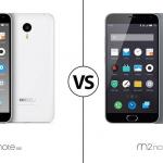 Comparativa entre Meizu M1 Note vs Meizu M2 Note