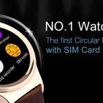 Reloj movil NO.1 S3 inteligente un smartwatch con tarjeta SIM