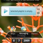 Explicación sobre los widgets de Android en moviles y tablets